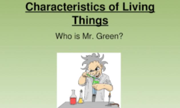 12 Karakteristik Dan Ciri Makhluk Hidup